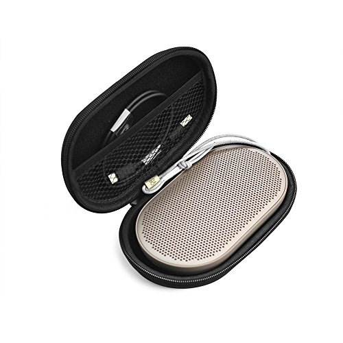 Beoplay P2 Case,Hard Carry Travel Portable Protective Storage Case Box Cover Bag Case for B&O Play by Bang & Olufsen Beoplay P2 Portable Bluetooth Speaker -Extra Space for USB Charging Cable (Case)