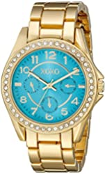 XOXO Women's XO180 Analog Display Analog Quartz Gold Watch