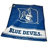 NCAA Duke Blue Devils Jacquard Woven Golf Towel