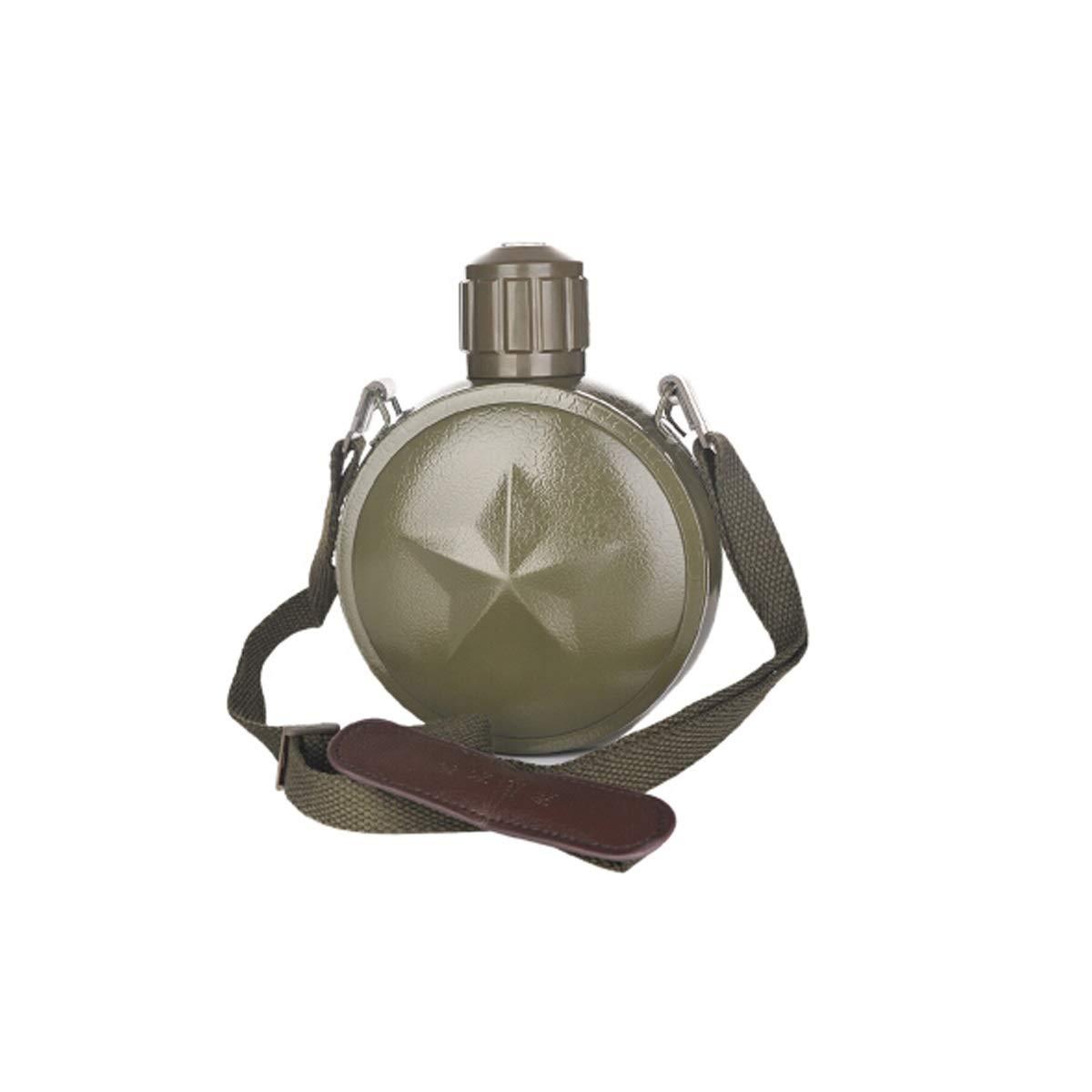 Tongboshi Retro Kettle, Large Capacity Mug, Outdoor Sports Mountaineering Travel Pot, Army Green 800ml (Capacity : 800ml, Color : Army Green)