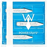 6 Magnetic Metal Collar Stays Set By Wurkin Stiffs Outperform Every Other Stainless Steel Collar Stays Magnet. Watch Your Limp, Floppy Collars Instantly Stand Stiff, Together & Confident