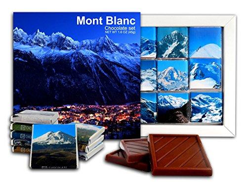 - DA CHOCOLATE Candy Souvenir MONT BLANC Chocolate Gift Set 5x5in 1 box (Night)