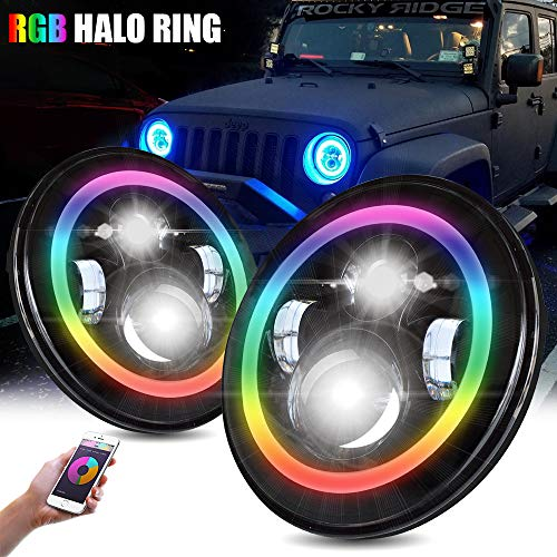 Color Led 7 Rings - T-Former RGB 7