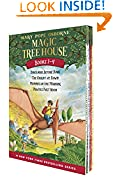 #5: Magic Tree House Boxed Set, Books 1-4: Dinosaurs Before Dark, The Knight at Dawn, Mummies in the Morning, and Pirates Past Noon