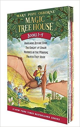 Magic Tree House #1-4 (Magic Tree House Collection)
