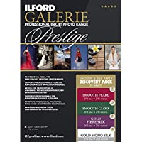 ILFORD 2004977 GALERIE Prestige Smooth Silk Discovery Pack - 8.5 x 11 Inches, 20 Sheets