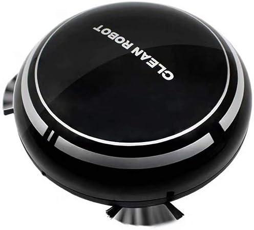 Robot Aspirador, Súper Succión, Aspira, Friega Y Pasa La Mopa para Suelos Duros Y Alfombras,Negro: Amazon.es: Hogar