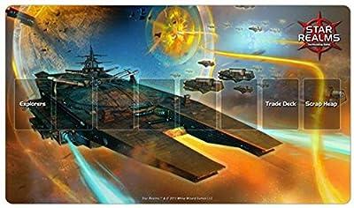 Star Realms War World Playmat