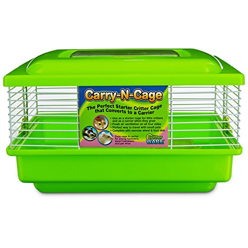 WARE Green Carry-N-Cage Small Animal Habitat, 11