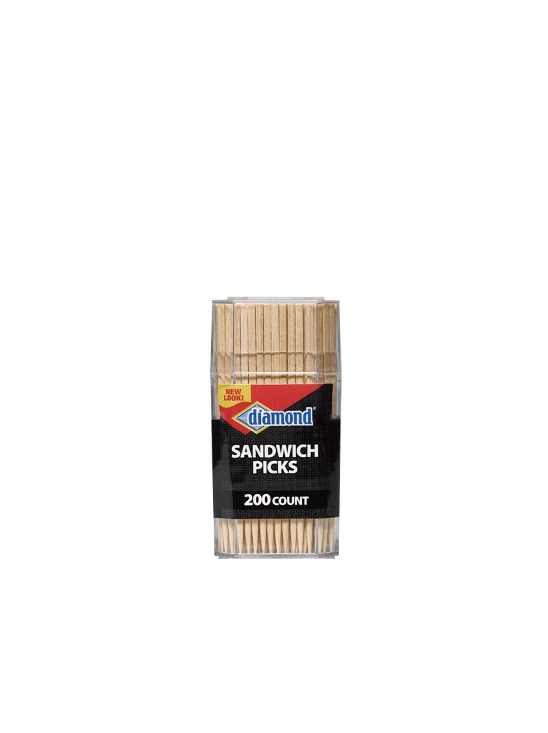 200-ct DIAMOND SANDWICH PICKS,PACK OF 6 by Diamond