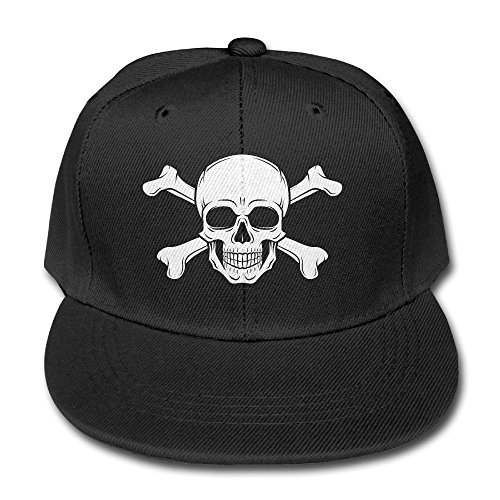 Mens Neo Icon - Skull Icon Bones Kid Hip Hop Baseball Cap Toddler Snapback Hat For Boys Girls Quirky Adjustable Cool Trucker Plain Flat Hats For Dance,Neo-Jazz,Street Jazz,Reggea