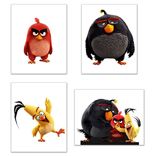 Angry Birds Wall Art Decor - Set of