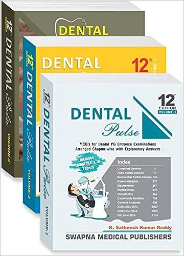 Dental Pulse Book Vol 1
