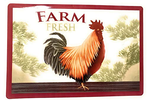 (Home Collection Farm Fresh Rooster Placemats (Set of 4))