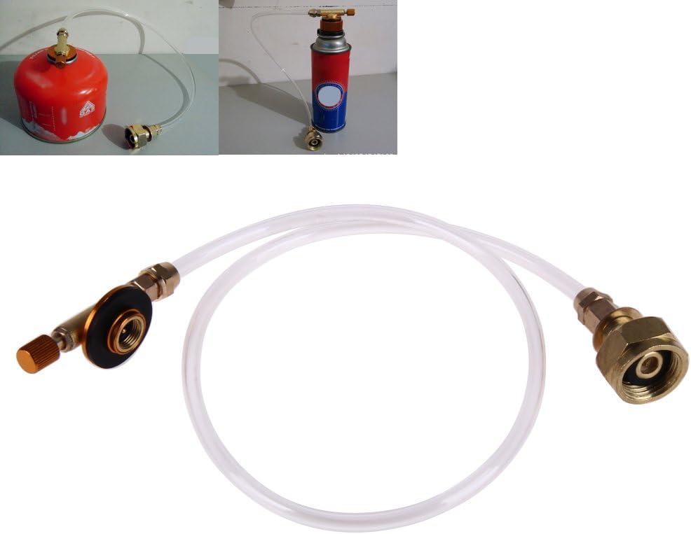 Outdoor Gas Stove Camping Stove Propane Refill Adapter Burner LPG Flat EU