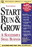 Start, Run and Grow a Successful Small Business, Susan M. Jacksack and CCH Consumer Media Group Staff, 0808007394
