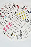 Generic [A_copy_of 30_sheets different_rates-_tattoo_stickers_waterproof_sweat_emulation,_durable_ x _stickers_for_men women.