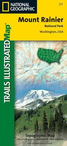 (National Geographic, Trails Illustrated, Mount Rainier National Park: Washington, USA (Trails Illustrated - Topo Maps USA))