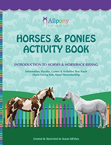 Horses & Ponies Activity Book: Introduction to Horses & Horseback Riding ()