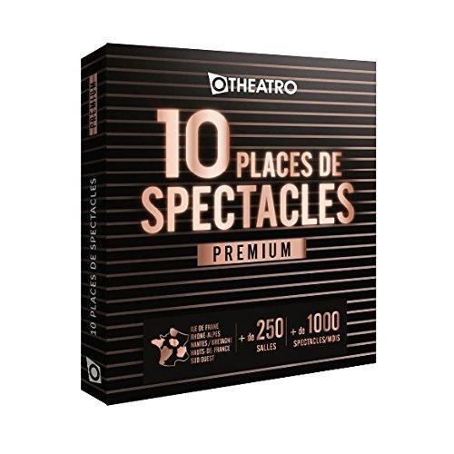 Coffret OtheatrO 10 places de Spectacles Premium – 300 salles partenaires