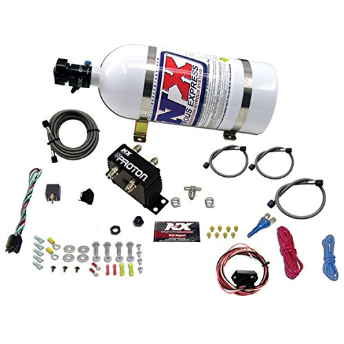 (Nitrous Express 20422-10 Proton Fly By Wire Nitrous System with 10 lbs. Bottle)
