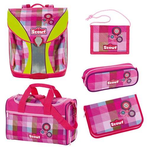 Scout 71500720800 Schule Schulranzen-Set, Pink