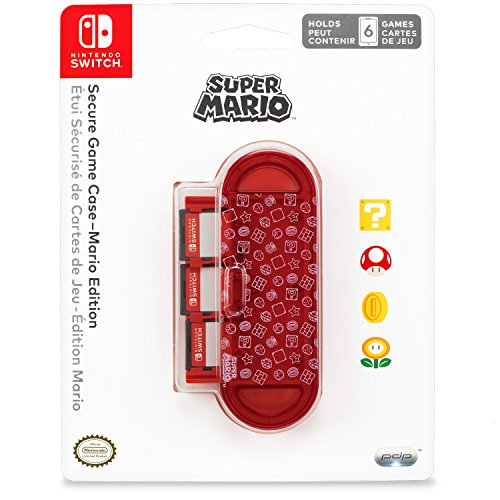 Nintendo Switch Secure Game Case Mario