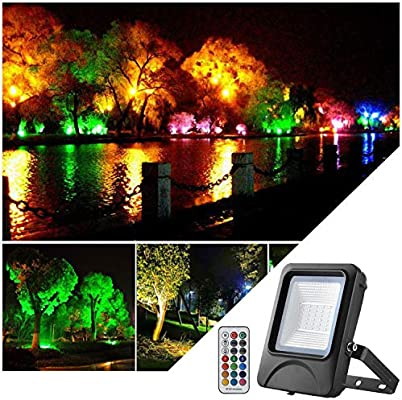 Proyector LED RGB de 20W Proyector LED con Control Remoto color ...