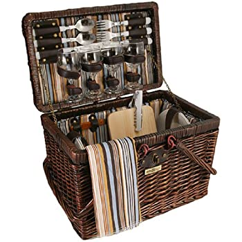 Willow Picnic Basket (Brown)
