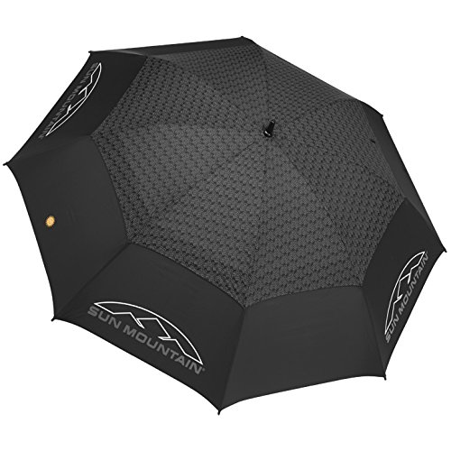 SUN MOUNTAIN SPORTS Automatic Umbrella, BLACK