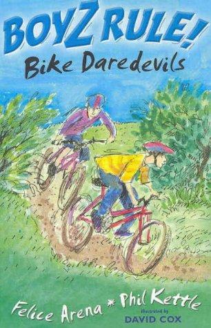 book cover of Bike Daredevils