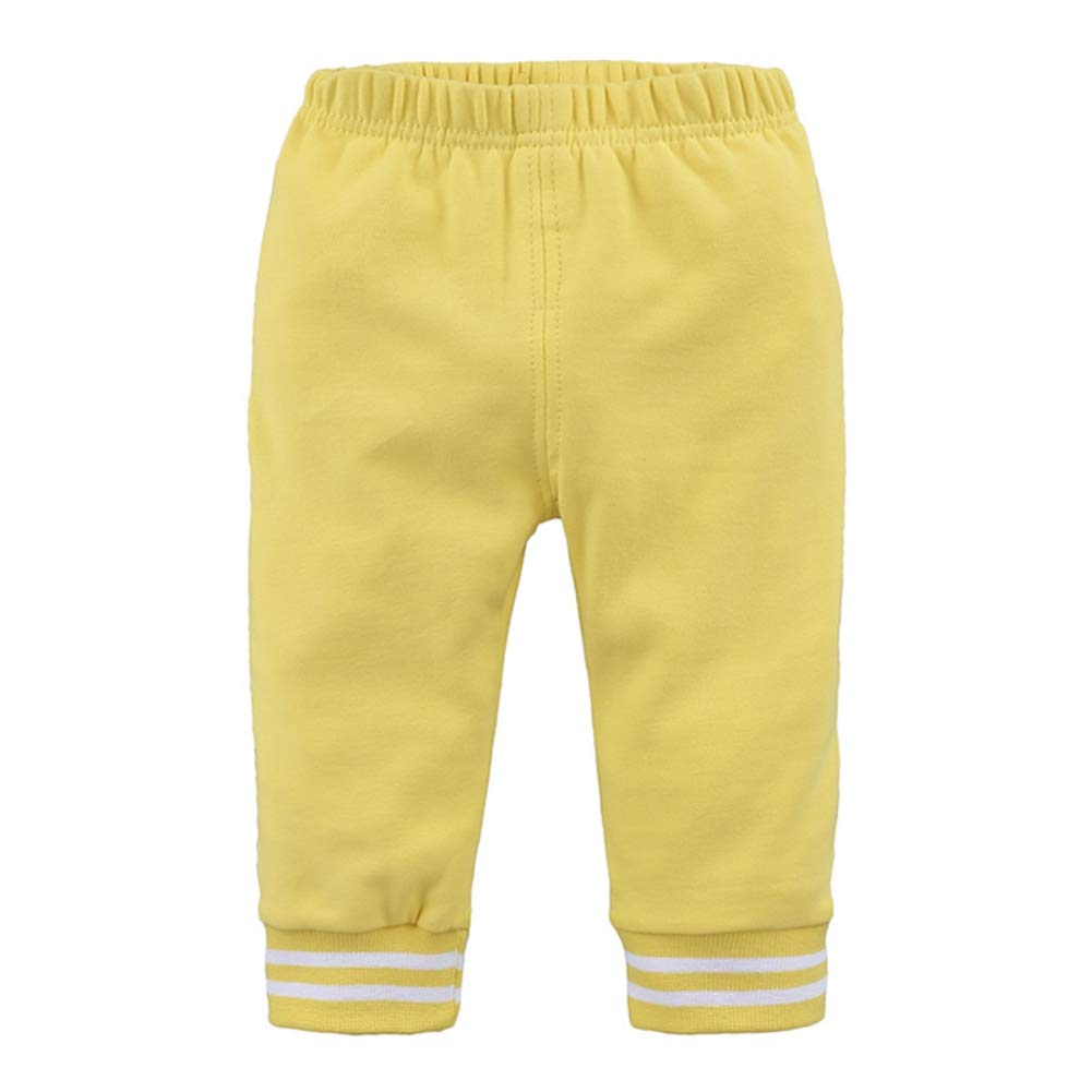 Age 9M-5T Timall Baby Boys Girls Autumn Winter Warm Skinny Cotton Pants Leggings Stripes Print Jogger Trousers