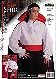 #2: Forum Novelties Ruffled Colonial Costume Shirt