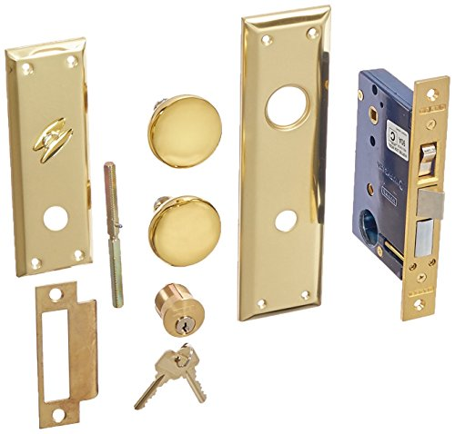 3. Marks Hardware 91A-RH Mortise Lock, Right Hand