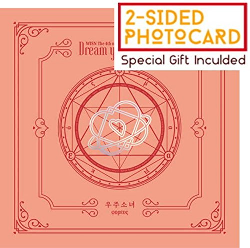 WJSN COSMIC GIRLS - Dream your dream (4th Mini Album) [Peach(φορευς) Ver.] CD+Booklet+Official Photocard+Folded Poster+Pre-order benefit(Official Bookmark)+Special Double-sided Photocard - Girl Mini Photo Album