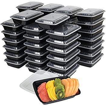Amazon com: Evolutionize Healthy Meal Prep Containers