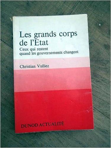 Livres Pdf Telecharger Gratuitement Les Grands Corps De L Etat