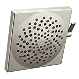 "Moen S6345BN Velocity Two-Function 8-1/2"" Diameter Spray Rainshower Showerhead, Brushed Nickel"