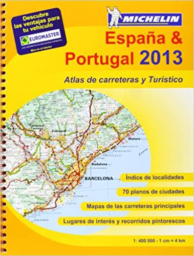 Atlas España - Portugal 2013 A4 4460 Atlas de carreteras Michelin ...
