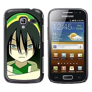 A-type Arte & diseño plástico duro Fundas Cover Cubre Hard Case Cover para Samsung Galaxy Ace 2 (Asian Girl)