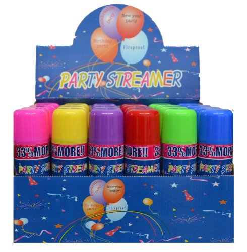 (G 3 Cans Crazy, Party not Silly String)