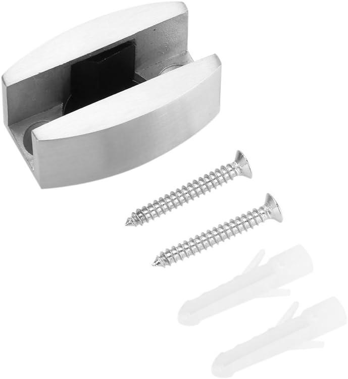 Herrajes para puertas correderas de guía de piso de acero inoxidable 304 para puertas corredizas de vidrio sin marco