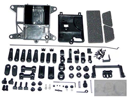 HPI Baja 5b SS RECEIVER RADIO BOX & THROTTLE LINKAGE Steering Servo Arms