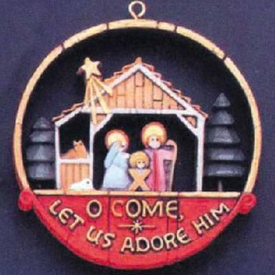 (Nativity Nostalgia Series 1977 Hallmark Ornament)