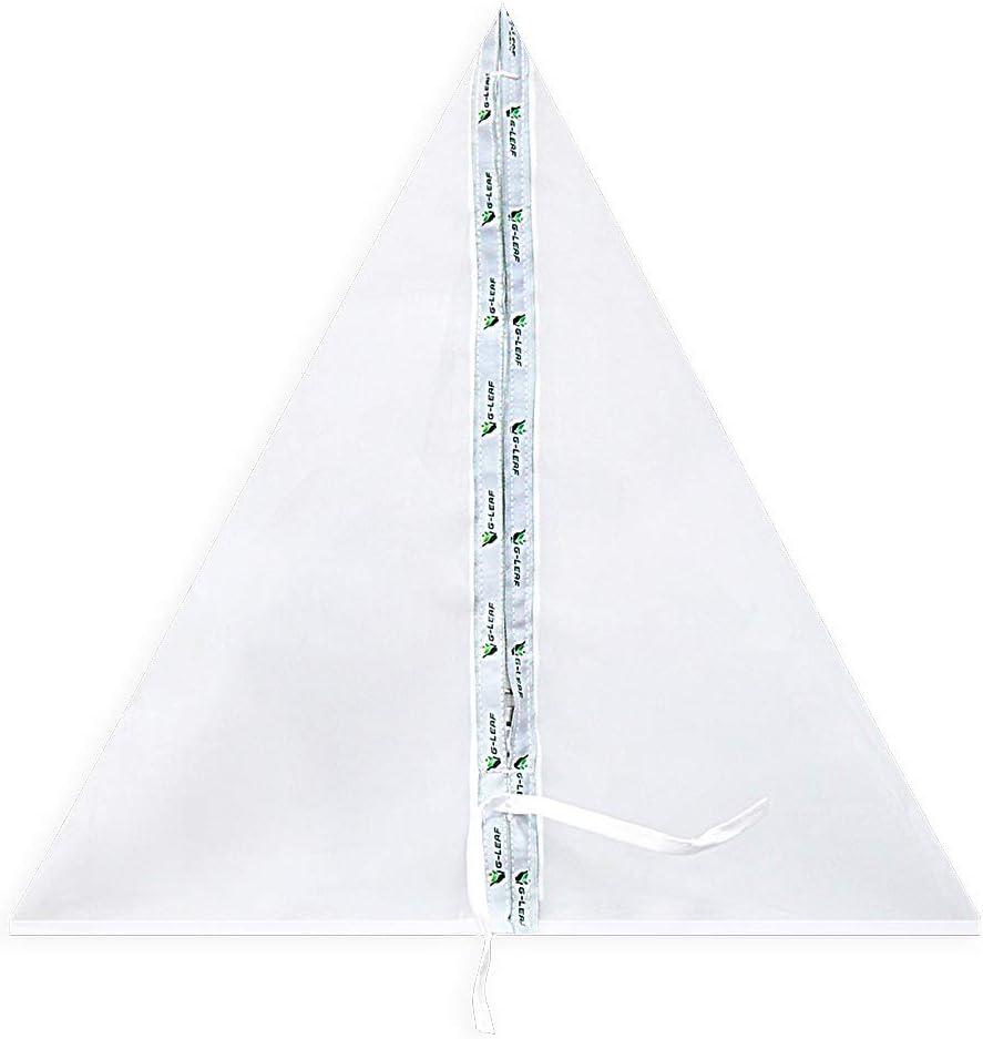 G-LEAF 20 Gallon 220 Micron Triangular Bubble Hash Zipper Bag for 20Gallon Bubble Washing Machine Extraction