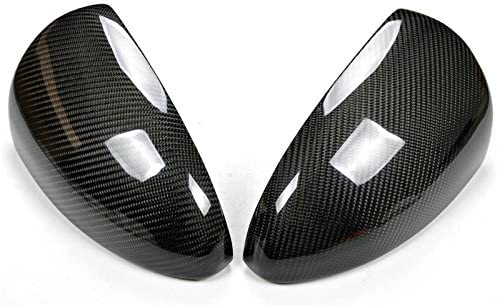 Pair Carbon Fiber Rear Side View Mirror Replacement Cover for Chevy Chevrolet Cruze