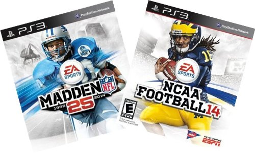 EA Football Digital Bundle: Madden NFL 25 + NCAA Football 14 - PS3 [Digital Code]