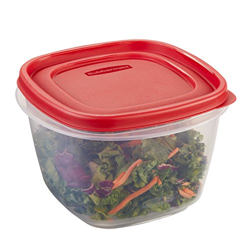 Rubbermaid Easy Find Lid Food Storage Container, BPA-Free Plastic, 7 Cup