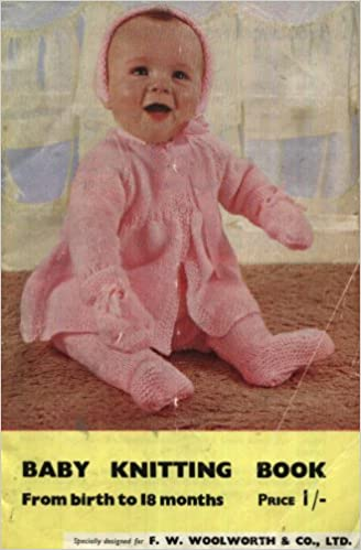 dd27bd243964 F.W. Woolworth Vintage Baby Knitting Book   Knitting patterns from ...