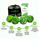 4-Pack Exercise Dice Bundle with Fitness Manual